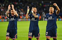 Messi 'khai hỏa', PSG đánh bại Á quân Champions League Man City