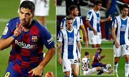 Tiễn hàng xóm Espanyol xuống hạng, Barcelona áp sát Real Madrid