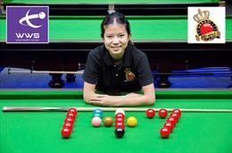 Tay cơ nữ đầu tiên lập kỷ lục đánh trọn bàn, giành 147 điểm tuyệt đối