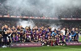 Barcelona bảo vệ thành công chức vô địch La Liga