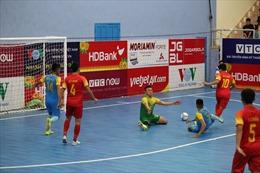 Lượt về vòng chung kết giải vô địch quốc gia futsal 2020 trở lại trong tháng 10