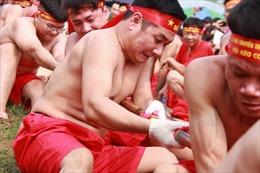 Nghi lễ kéo co ngồi đền Trấn Vũ được vinh danh là di sản văn hoá phi vật thể đại diện của nhân loại