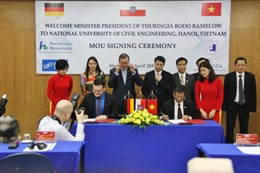 Hợp tác với đại học của Đức đào tạo ngành kỹ thuật và công nghệ