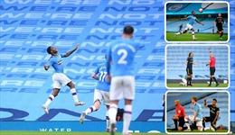 Arsenal thảm bại trước Man City trong ngày bóng đá Anh trở lại