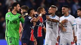 PSG thất bại 0 - 1 sau màn 'hỗn chiến' có tới 5 thẻ đỏ trước đại kình địch Marseille