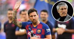 Messi sẽ kết thúc sự nghiệp ở Barcelona