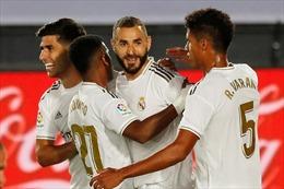Real Madrid bon bon về đích
