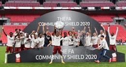 Hạ Liverpool bằng tỷ số 5-4 ở loạt sút 11 m, Arsenal giành siêu cúp Anh 2020