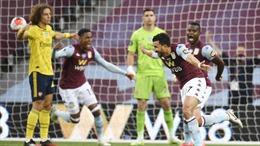 Thua sốc Aston Villa, Arsenal hết cơ hội dự Europa League