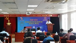 Gần 200 VĐV tham dự Giải Bóng bàn Cúp Hội Nhà báo Việt Nam 2019