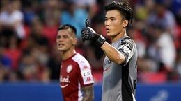 Bùi Tiến Dũng lần đầu giữ sạch lưới tại V-League sau gần 2 năm