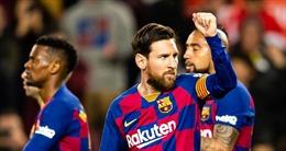 HLV Barca làm rõ tương lai Messi