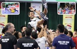 Thắng 'hủy diệt' đội bóng bám đuổi, Thái Sơn Nam bảo vệ thành công ngôi vô địch