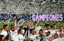 Real Madrid trở thành tân vương La Liga