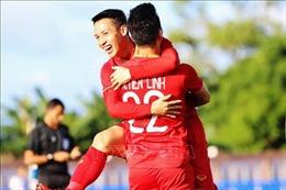 Hạ U22 Lào bằng tỷ số 6-1, Việt Nam tiếp tục dẫn đầu bảng B