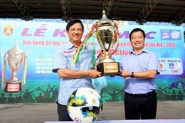 Chung kết Giải bóng đá học sinh THPT Hà Nội - Báo ANTĐ lần thứ 19-2019