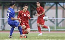 Hàng phòng ngự mắc sai lầm, U22 Việt Nam bị U22 Thái Lan tạm dẫn 2-1