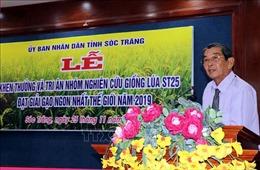 Năm 2020 sẽ cung ứng khoảng 30.000 tấn gạo ST25 ra thị trường
