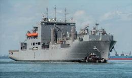 30 tàu chiến Mỹ khẩn cấp rời căn cứ đi tránh siêu bão