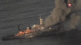 Xem tên lửa chống hạm KH-35U mới của Nga bắn phá tàu chiến