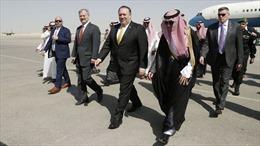 Ngoại trưởng Pompeo vừa đến Riyadh, Saudi Arabia liền chuyển 100 triệu USD cho Mỹ