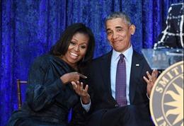 Vợ chồng Tổng thống Obama được ngưỡng mộ nhất nước Mỹ