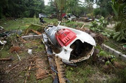 Cục Địa chất Mỹ không thể báo tin sóng thần Indonesia vì chính phủ đóng cửa