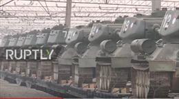 Lào gửi trả Nga hàng chục xe tăng huyền thoại T-34