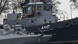 Bất chấp căng thẳng, Ukraine tiếp tục điều tàu chiến đến Biển Azov