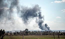 Bên trong địa ngục khói lửa Baghouz của IS ở Syria