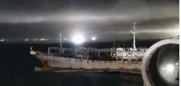 Argenina nổ súng xua đuổi tàu cá Trung Quốc
