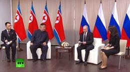 Tổng thống Putin tuyên bố ủng hộ đối thoại liên Triều, tin tưởng vào quan hệ với Bình Nhưỡng