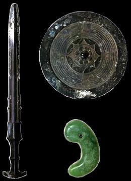 Tấm gương, thanh kiếm, viên ngọc - Ba báu vật bí ẩn trong lễ lên ngôi Nhật hoàng