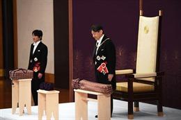 Ai là 'bóng hồng' duy nhất được chứng kiến lễ lên ngôi của Nhật hoàng?