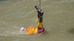 Tái hiện màn thoát thân kinh điển, ảo thuật gia mất tích dưới sông