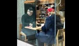 Bản sao Tổng thống Donald Trump và Chủ tịch Kim Jong-un ăn trưa tại Tokyo