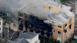 Xác định danh tính kẻ phóng hỏa xưởng phim hoạt hình tại Nhật Bản