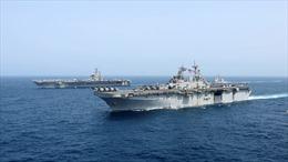 Thủy thủ tàu chiến Mỹ mất tích ngay vùng biển cửa ngõ Iran