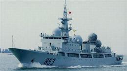 Tàu chiến Trung Quốc xuất hiện gần vùng biển Mỹ-Australia tập trận