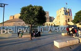 Trên 16.000 xí nghiệp nối lại hoạt động tại Aleppo, Syria