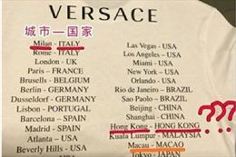 Versace xin lỗi sau khi in hình áo phông gây tranh cãi ở Trung Quốc