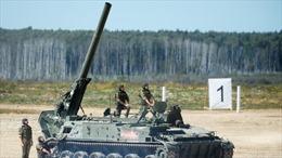 Toàn cảnh siêu cối tự hành uy lực nhất thế giới của Nga khai hỏa