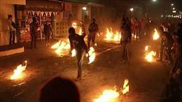 Độc đáo lễ hội ném cầu lửa tại El Salvador