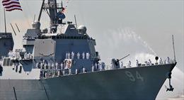 Mỹ điều tàu khu trục mang tên lửa Tomahawk tới 'vá lỗ hổng' phòng không Saudi Arabia