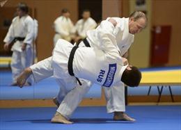 Tổng thống Putin khẳng định tập Judo hữu ích cho quan hệ đối ngoại