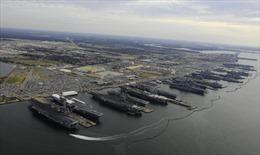 6 tàu sân bay Bờ Đông của Mỹ đồng loạt cập cảng