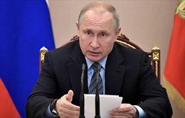 Tổng thống Nga đề cao quan hệ đối tác chiến lược với Cuba