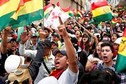 Người biểu tình Bolivia đánh chiếm Đại sứ quán Venezuela tại La Paz