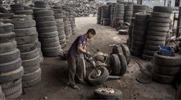 Trung Quốc khuyến khích tái chế lốp cao su chống ô nhiễm