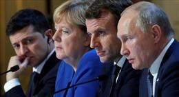 Hé lộ câu Thủ tướng Merkel nói với Tổng thống Putin sau cuộc họp Normandy